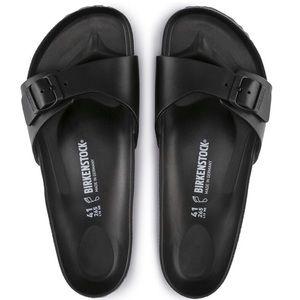 SZ 10 ***Madrid Birkenstocks 🌼 BOGO black/white